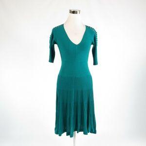 Catherine Melandrino green dress S